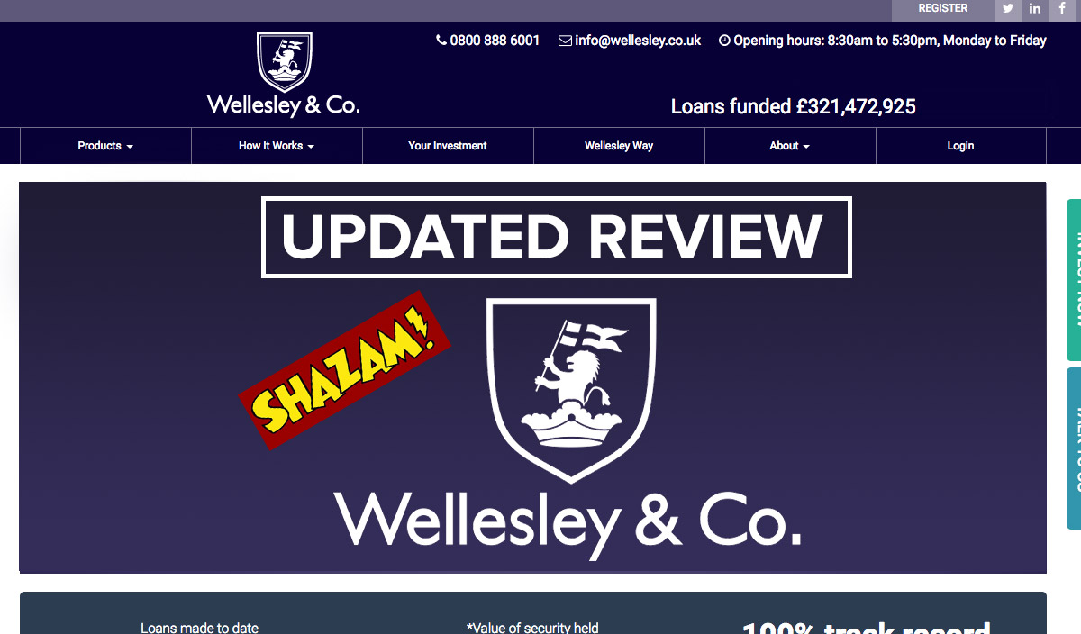 wellesley & co peer to peer lending review