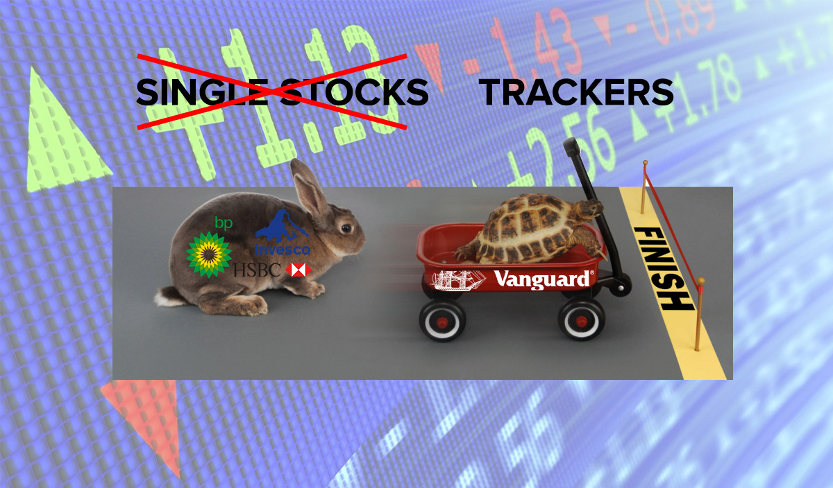 best tracker funds forget single stocks financial thing