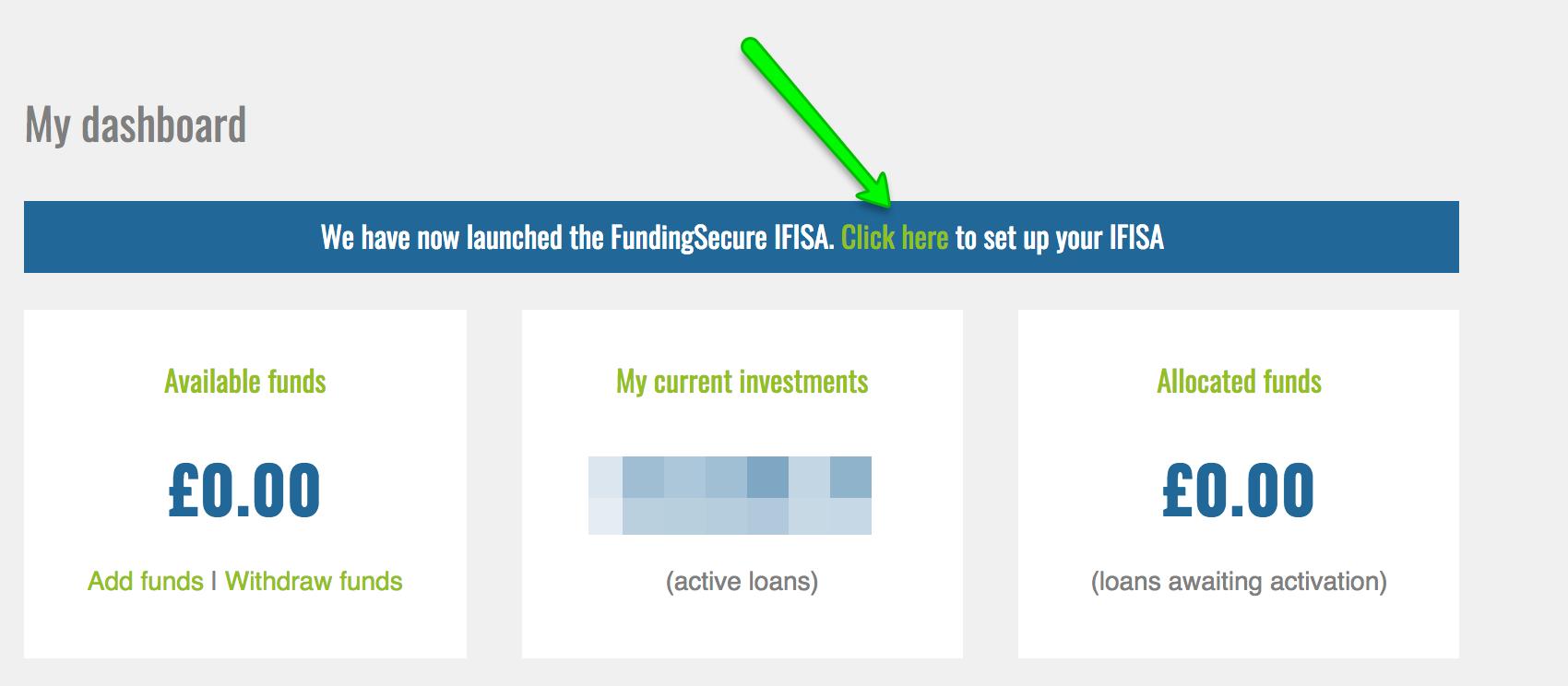 funding secure isa
